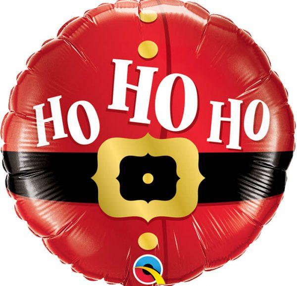 """Ballon de noël """"ho ho ho""""."""