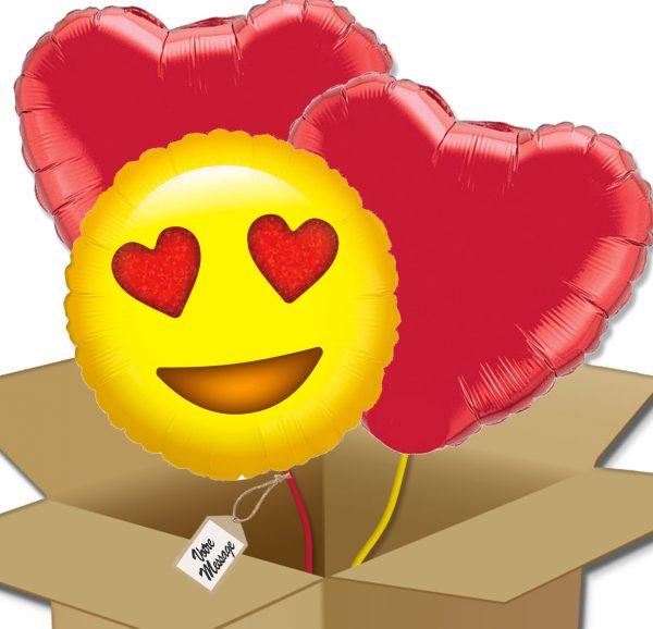 Bouquet de Ballons Trio amoureux