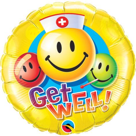 Bouquet de Ballons pour un bon rétablissement