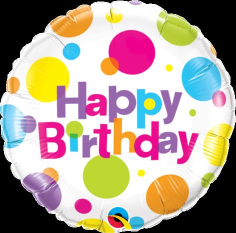 Bouquet de Ballons très coloré avec poids pour un anniversaire