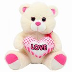 Bouquet Ballons Nounours love