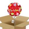 Ballon Merry Christmas dans sa boîte.