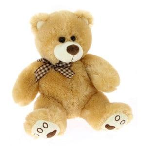 Boucle d'ours en peluche classique 20 cm