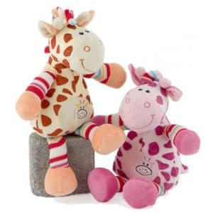 Pour enfants girafe 28 cm 2 couleurs
