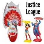 Bouquet de Ballons Chocolat Kinder Surprise Justice League