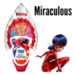 Bouquet de Ballons Chocolat Kinder Surprise Miraculous